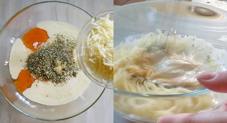 mix cream for broccoli casserole