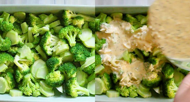 healthier broccoli casserole