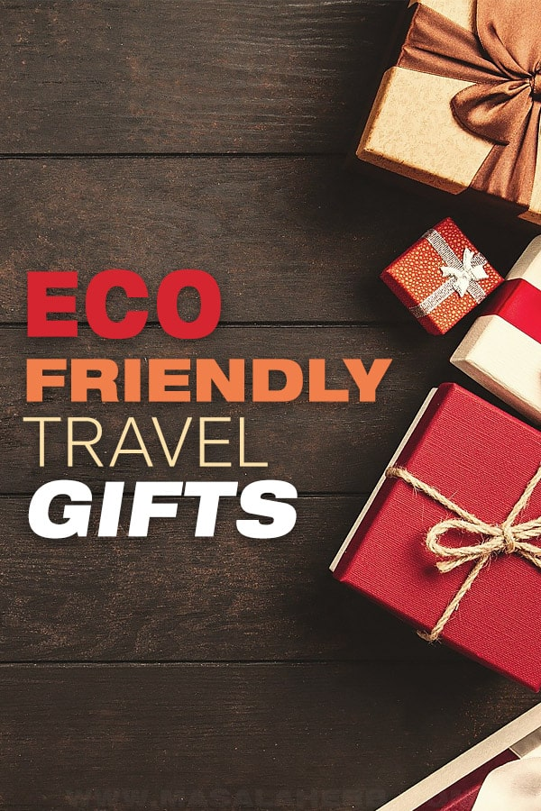 eco friendly gift ideas pin for travelers