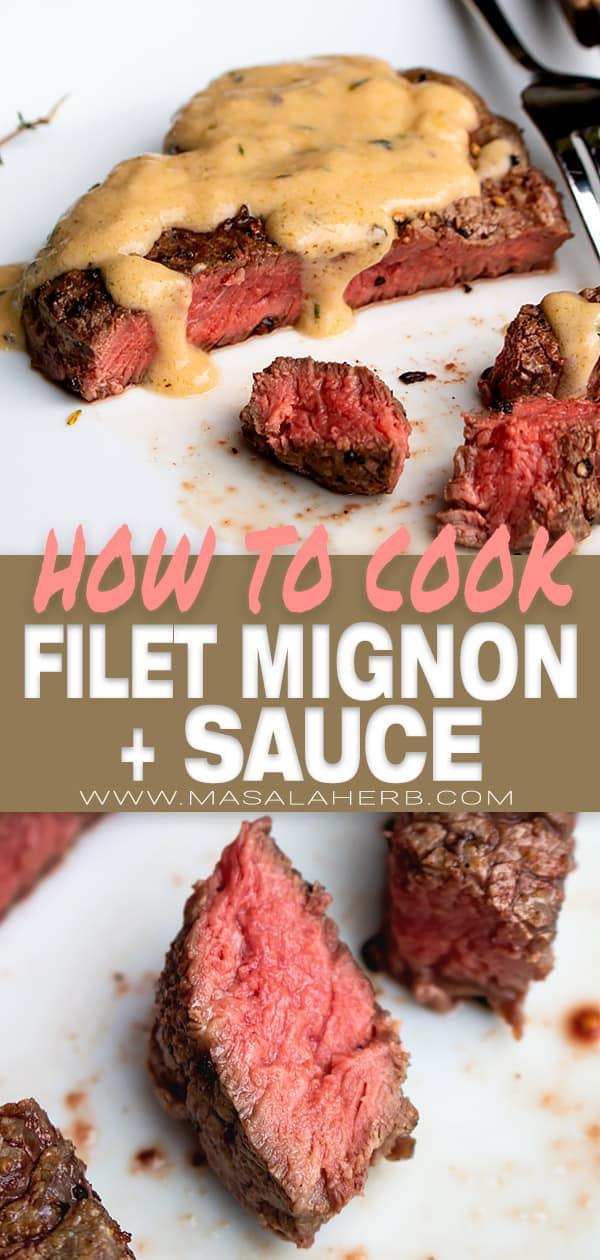 beef steak filet mignon