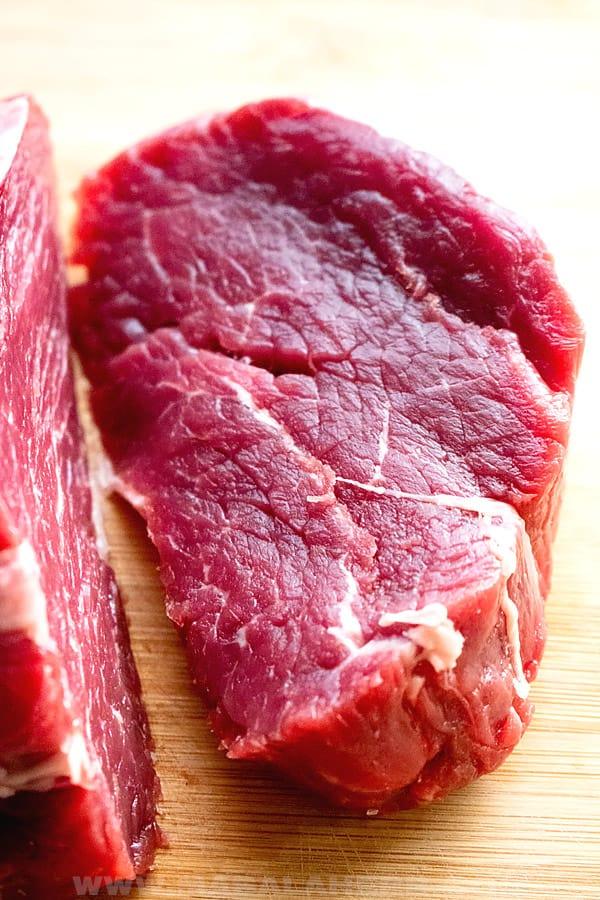 beef tenderloin cut