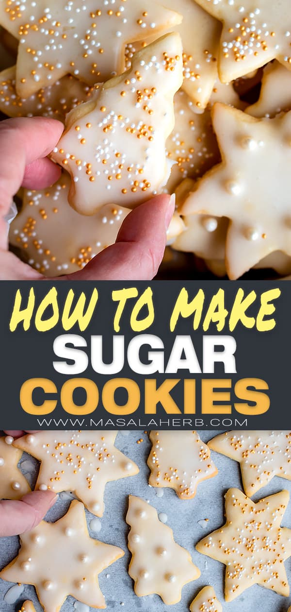 How to make Sugar Cookies to cut out