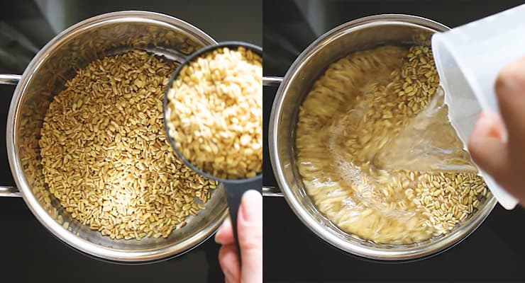 wheat berry cooking ebly