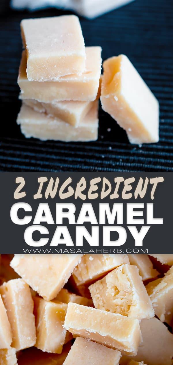 homemade candy caramel pin
