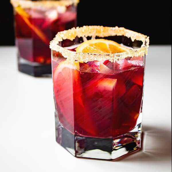 spanish sangria drink