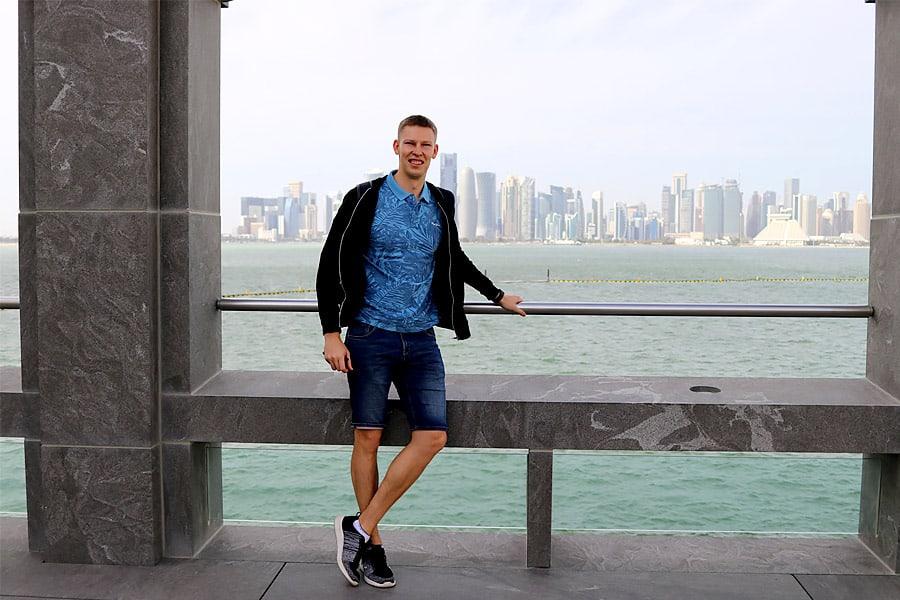 Corniche view in doha