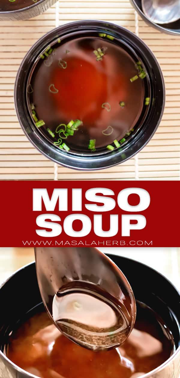miso soup pinterest