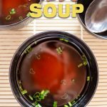 basic miso soup pin
