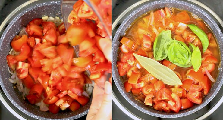 season tomatoes to make soup