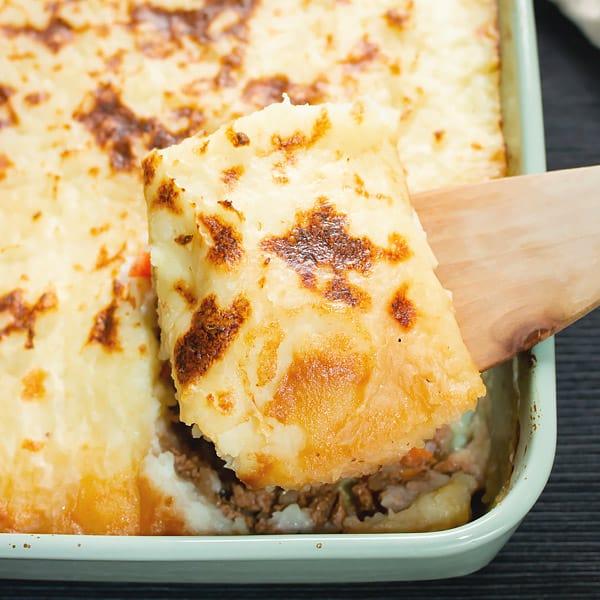 Casserole shepherd's pie