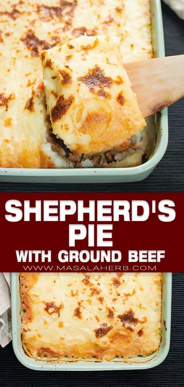 shepherd's pie pin