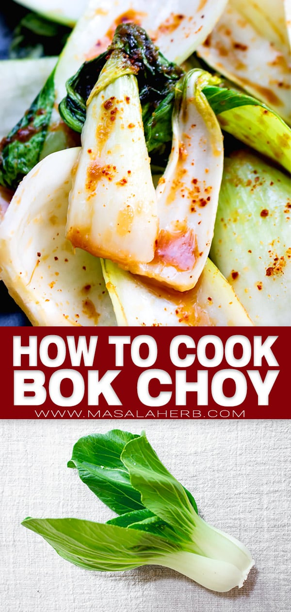 How to cook Bok Choy pin