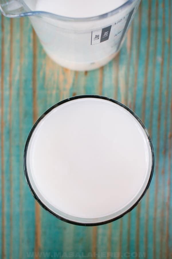 oat milk bird view