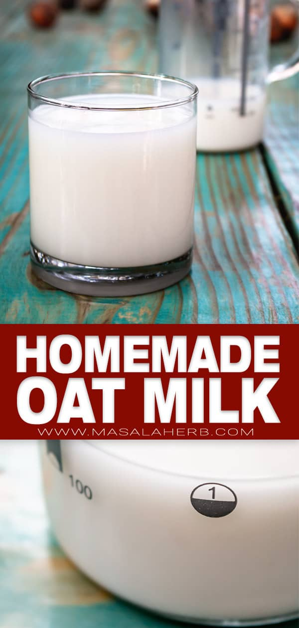 How to make Oat Milk pin
