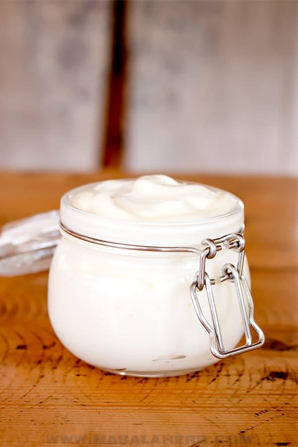 jar of Japanese mayo