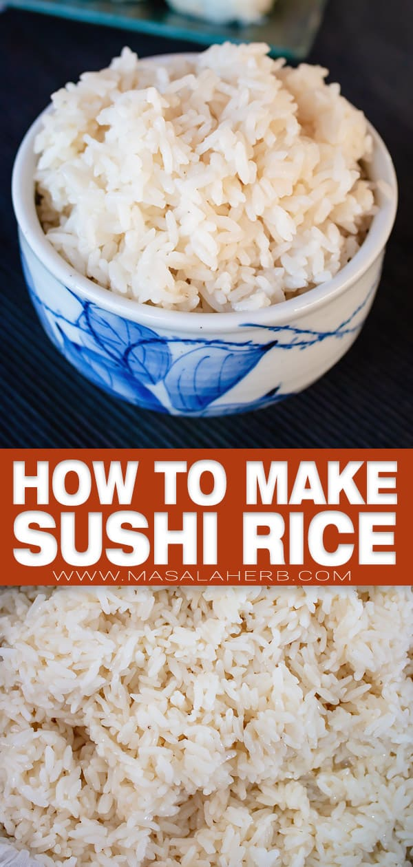 how to make sushi rice pin