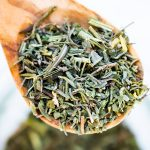 close up of herbes de provence blend