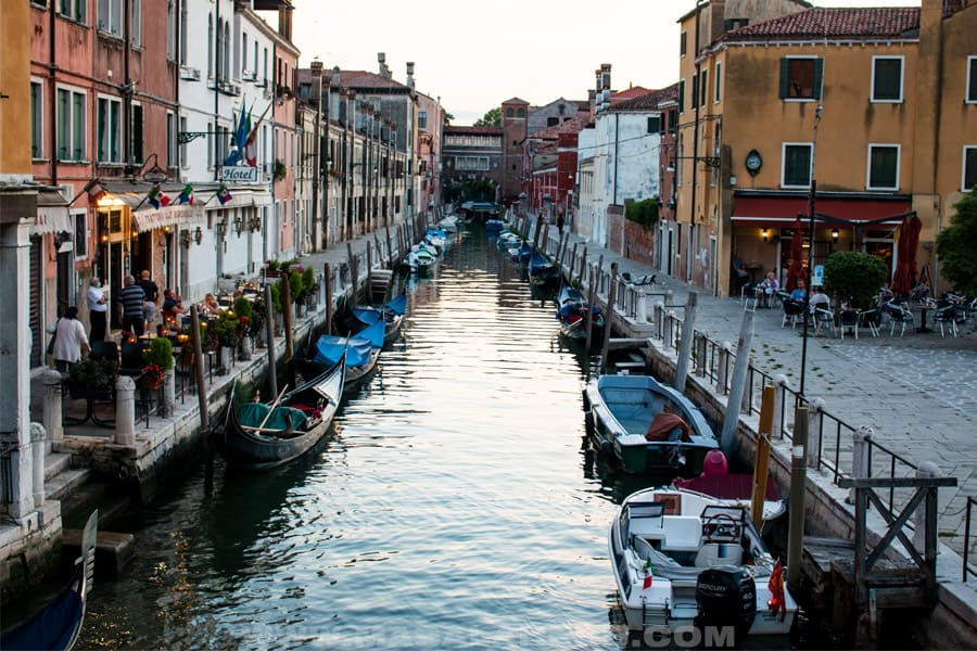 water channel of venice