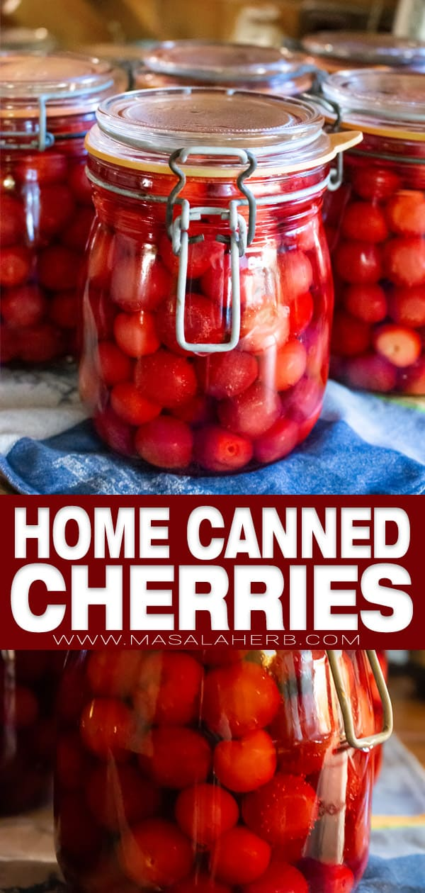 canning cherries in a water bath pin