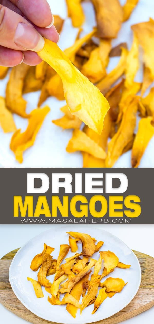 Dehydrated Mango pin image