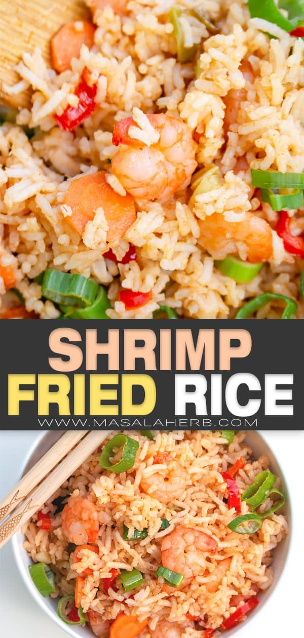 shrimp fried rice pin image