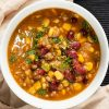 chili with pumpkin beans and corn