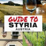 guide to styria austria