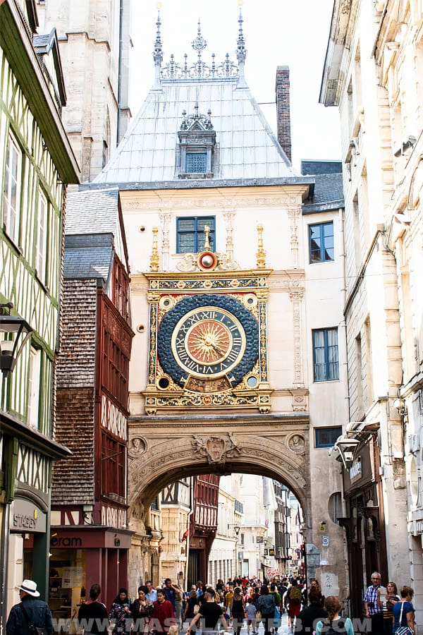 The timepiece in Rouen