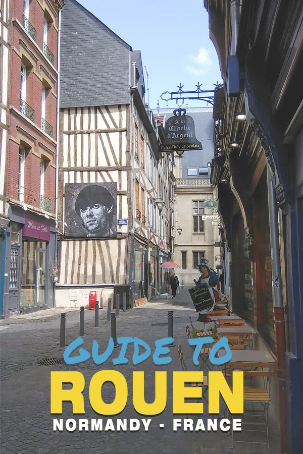 Guide to Rouen France pin image