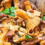 cooking chanterelle mushrooms at home