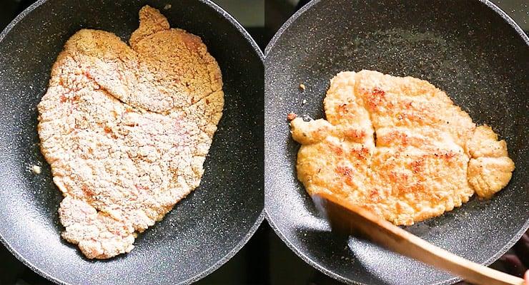 fry schnitzel