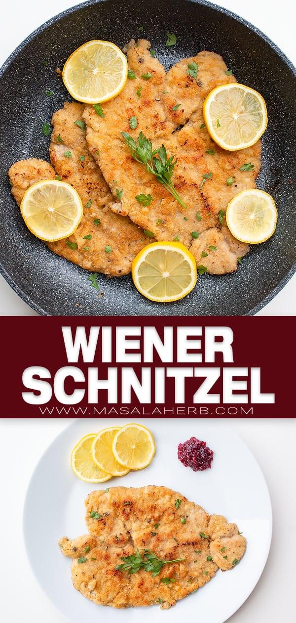 Authentic Wiener Schnitzel Recipe pin image