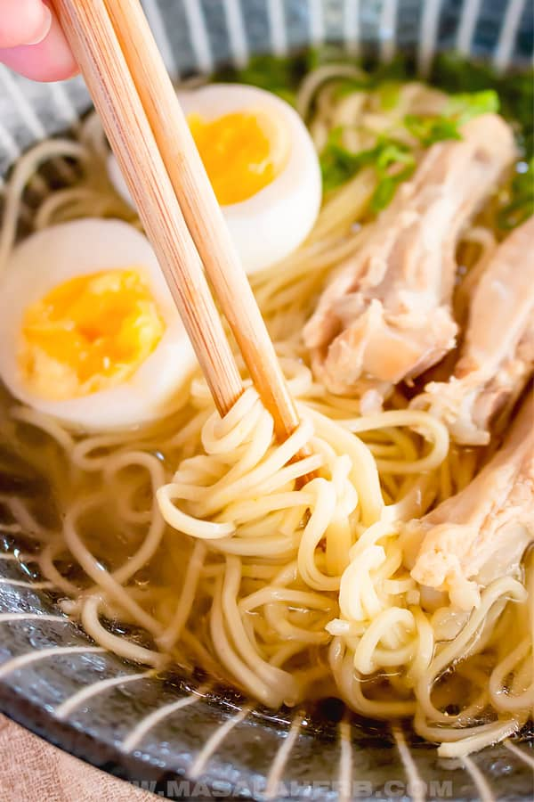 noodle for ramen soup