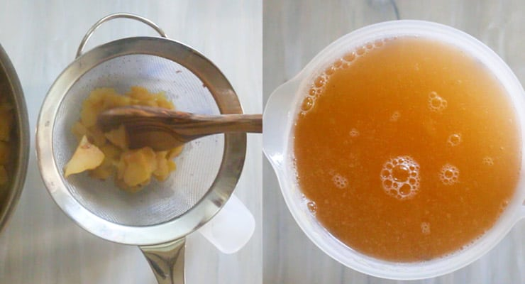 extract quince juice