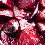 garden fresh beets oven roasted