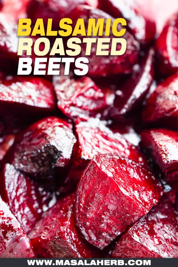 how to roast and prepare balsamic beets