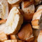oven baked garlic bread