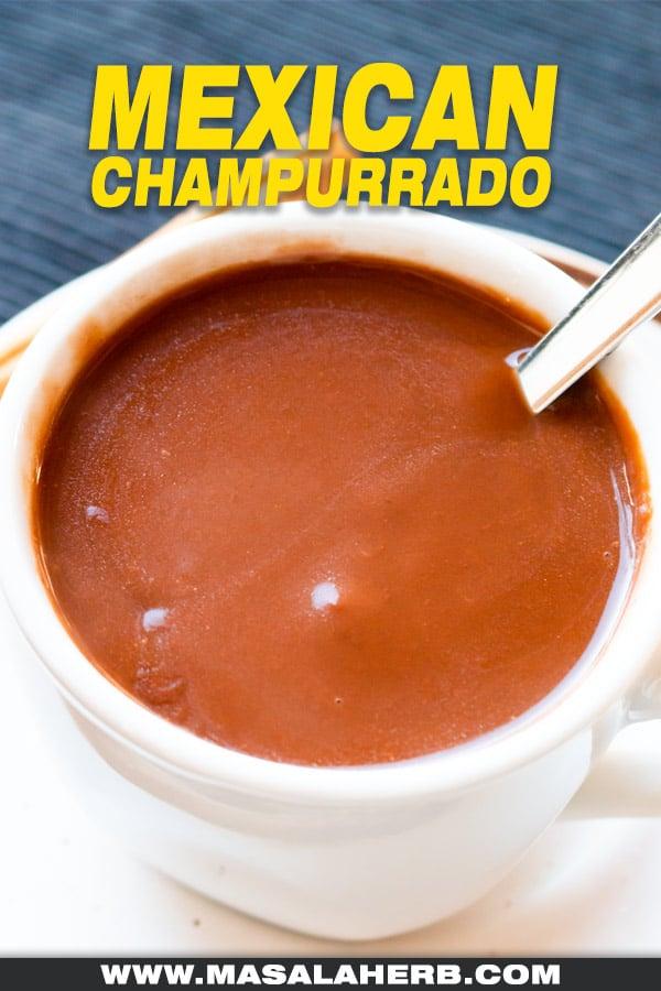 hot champurrado
