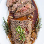 garlic roast beef
