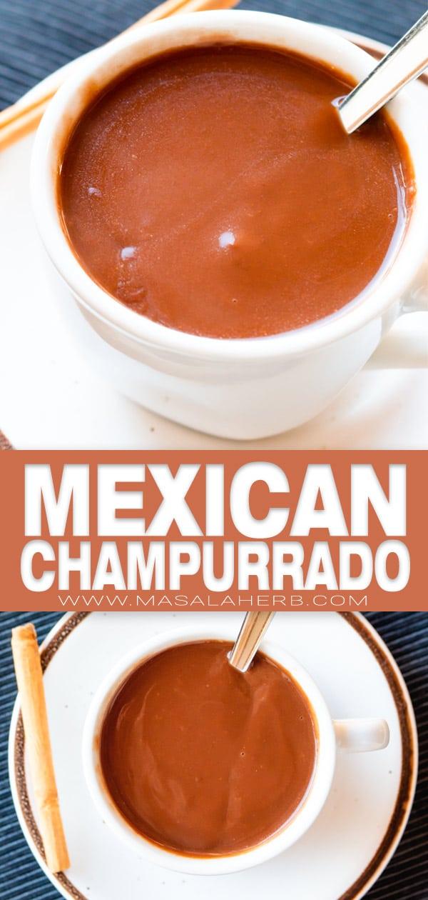 Mexican Champurrado Hot Chocolate Recipe