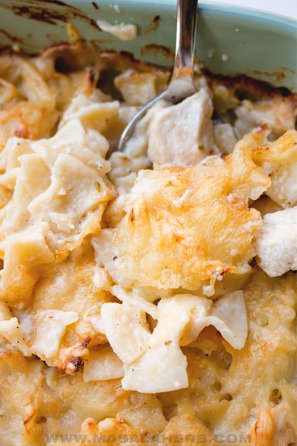 cheese chicken pasta casserole