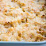 cheesy chicken pasta casserole