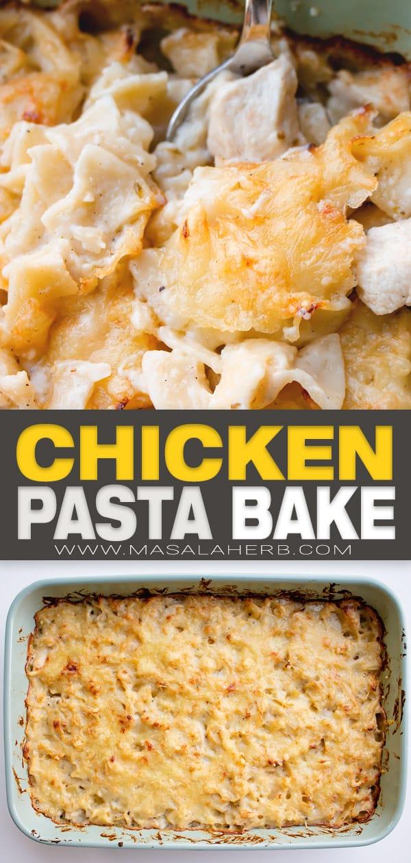chicken pasta bake casserole