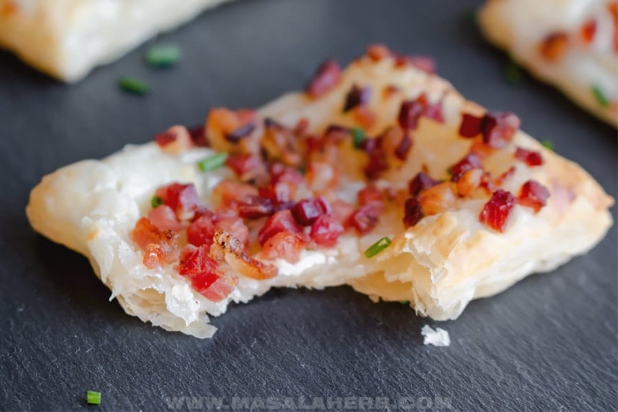 puff pastry party appetizer