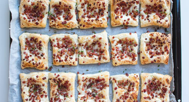 bake puff pastry apps