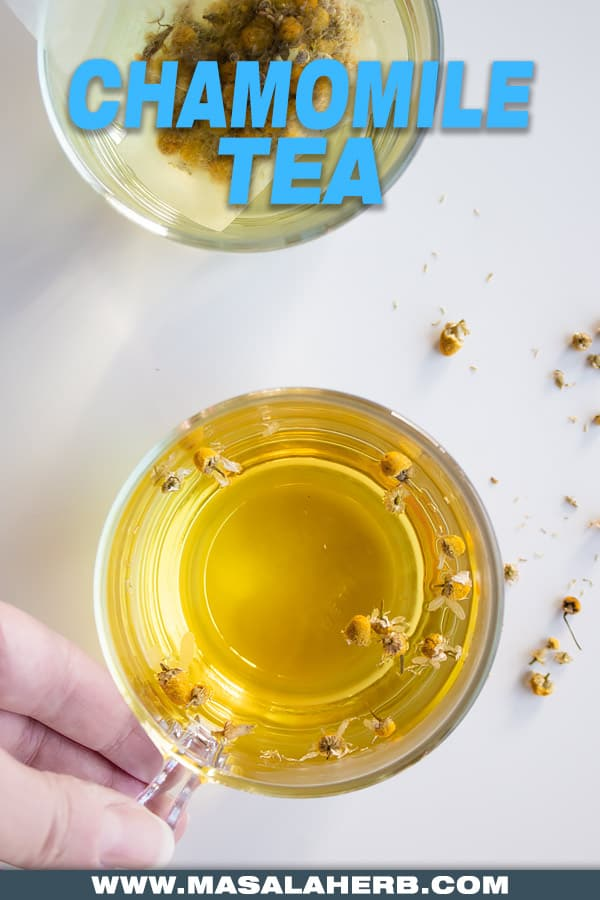 how to infuse chamomile