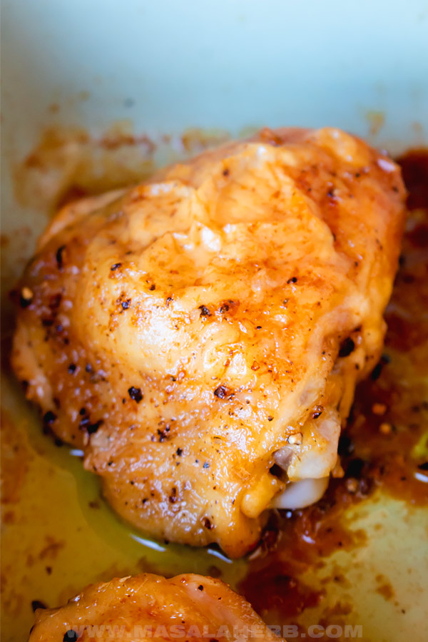 4 ingredients chicken thighs