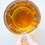oregano tea in a cup