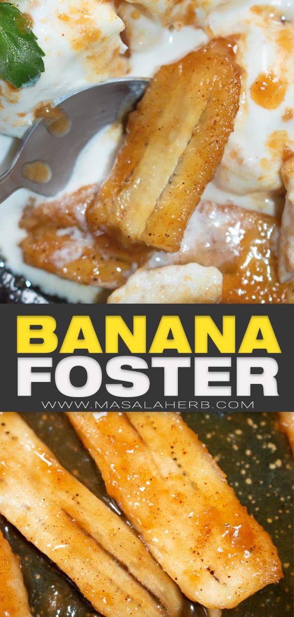 banana foster pin image