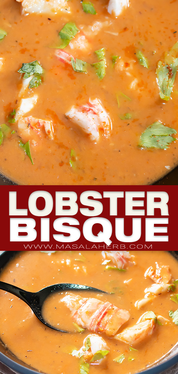 lobster bisque pin image